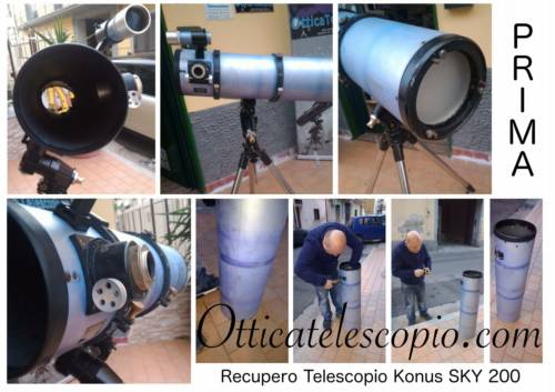 Assistenza Telescopio