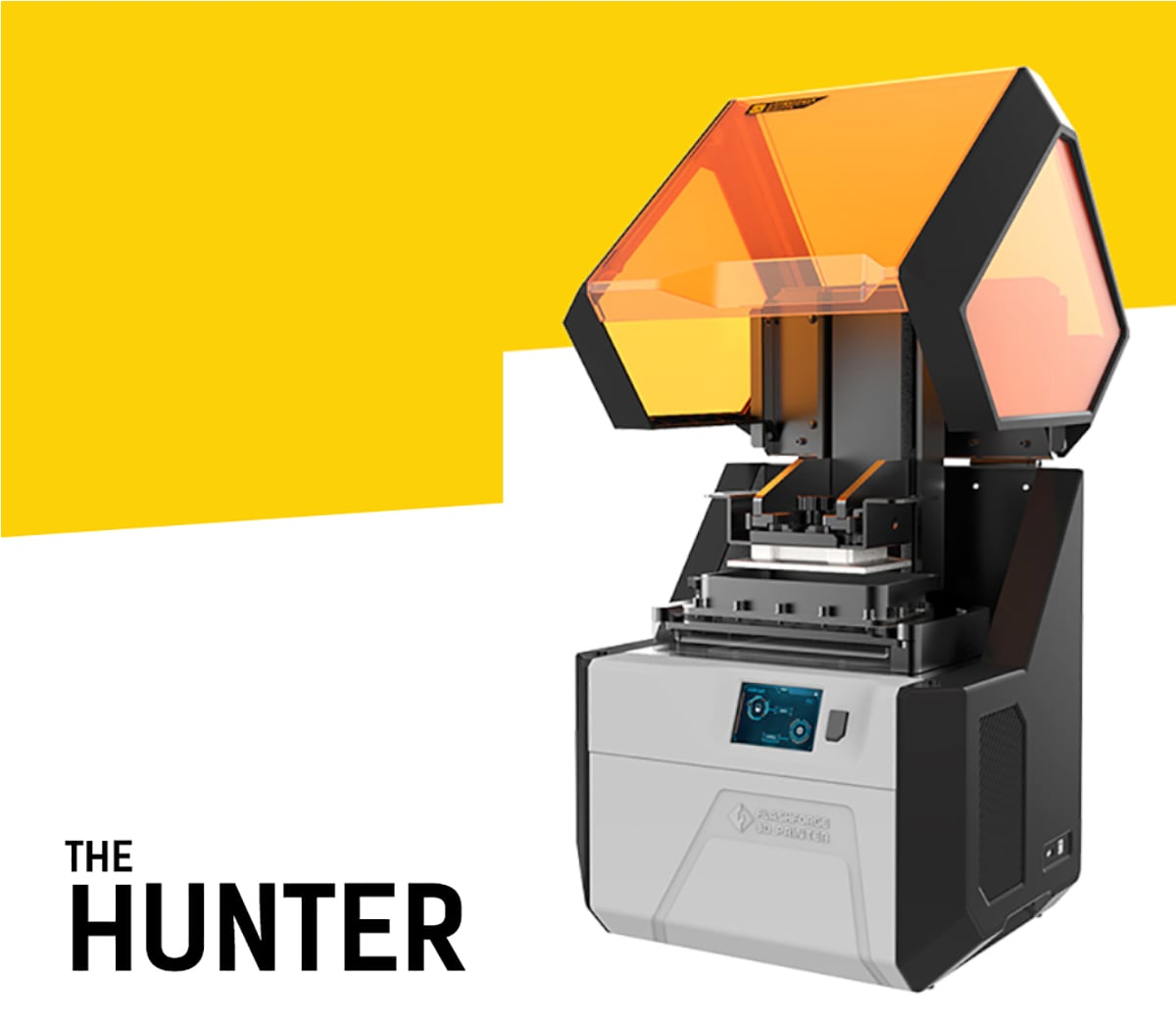 Hunter Flashforge Stampante a Resina Professionale Industriale