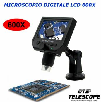 Microscopio Digitale LCD OTS G600