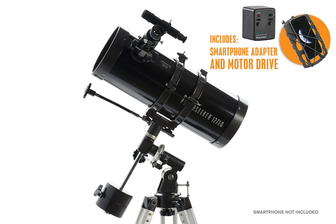 PowerSeeker 127 EQ MD Smart Celestron